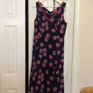 Boden a-line dress with pockets